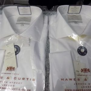 Hawes & Curtis Shirts - Hawes & Curtis Dress Shirts 18/38